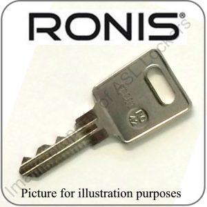 ronis locker KT3 KT4 TK4 TK5 replacement key