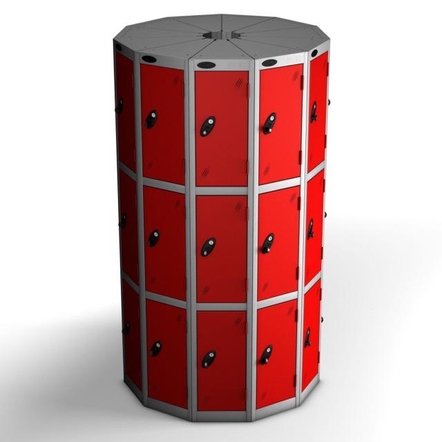 pod space saving lockers