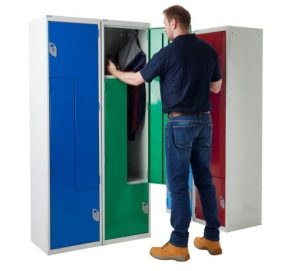 Z style two person lockers