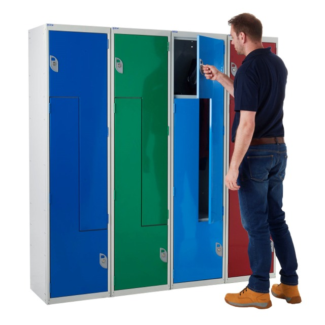 Z two 2 person lockers