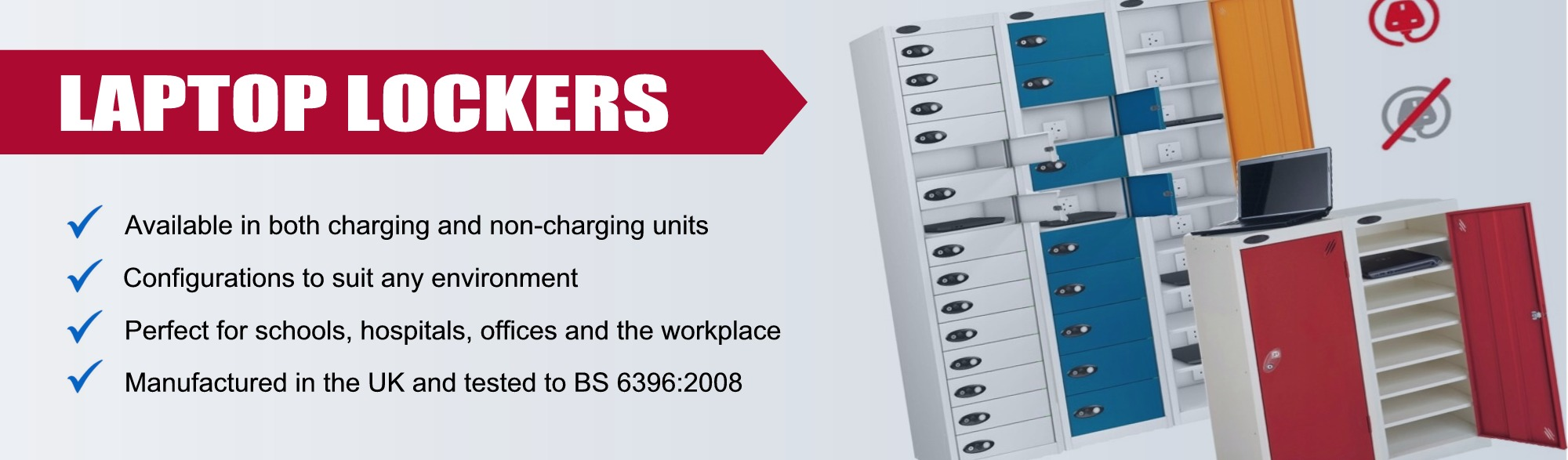 Laptop, Tablet, Phone and Ipad Lockers from £162