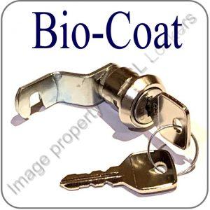 biocote lockers hooked cam lock