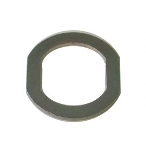 cam hasp latch lock washer double d cut out