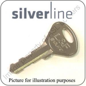 silverline w5 w6 w7 locker keys