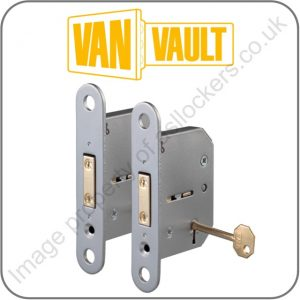 van vault 4 store site storage box replacement 5 lever lock twin pack