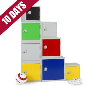 Elite cube modular stackable lockers