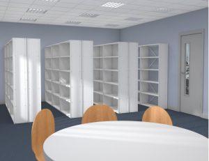 Probe Ikon Office Shelving Installation Image