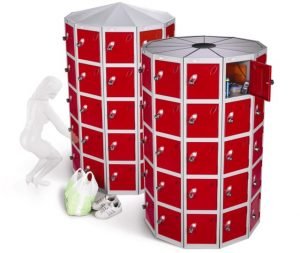 Space Saving POD lockers from Probe