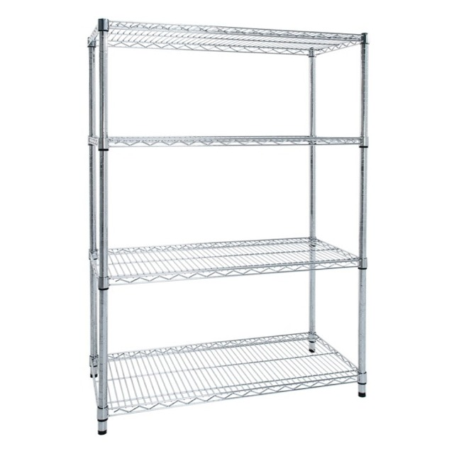 chrome wire food hygenic restaurant shelving