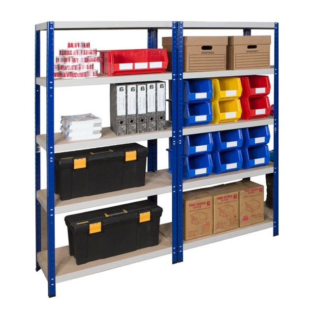 Economy office shelving