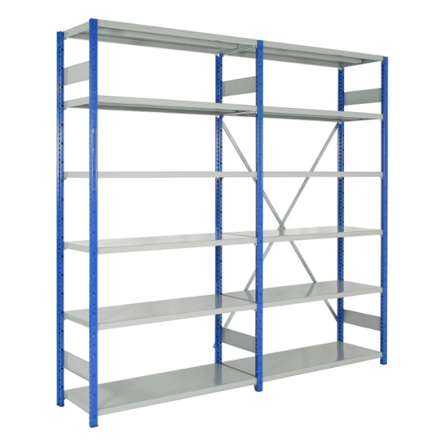 expo 4 boltless clip office storeroom warehouse adjustable shelving