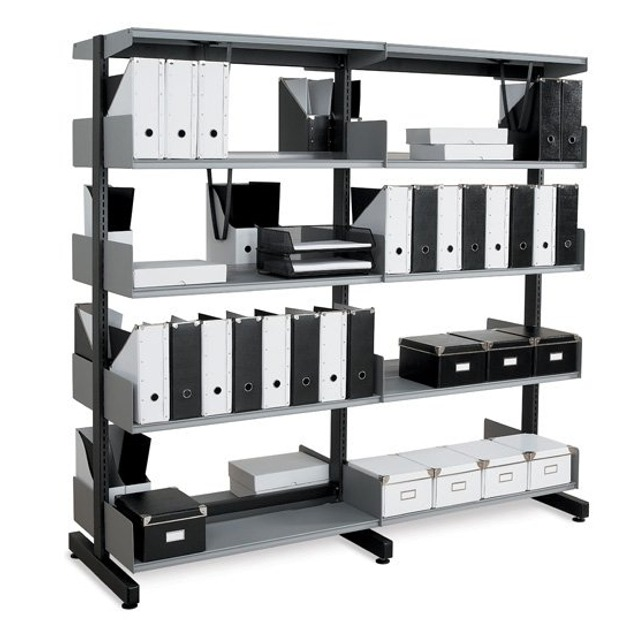 technic school office wall library shelving
