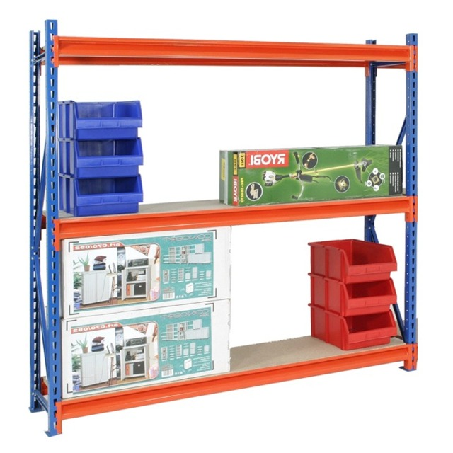 longspan widespan warehouse heavy duty shelving racking