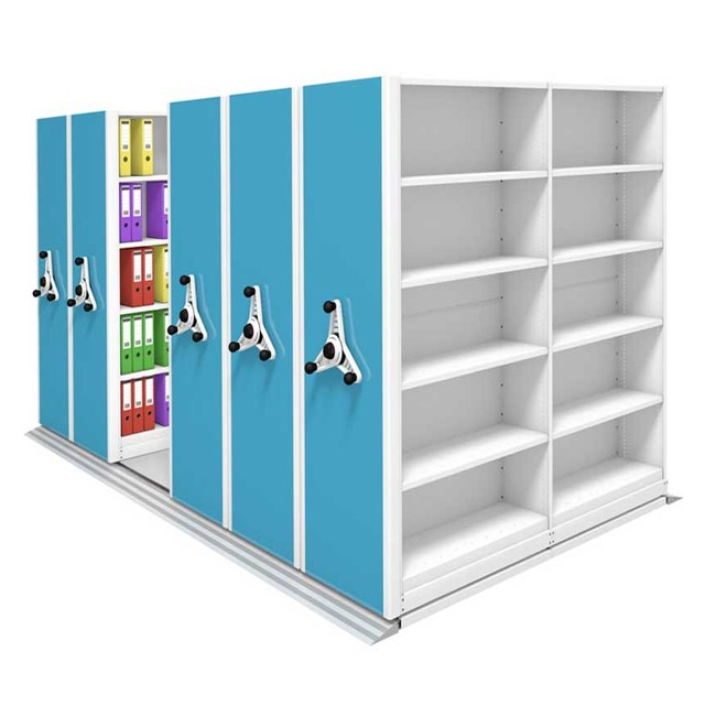 kinetic ikon mobile office filing shelving