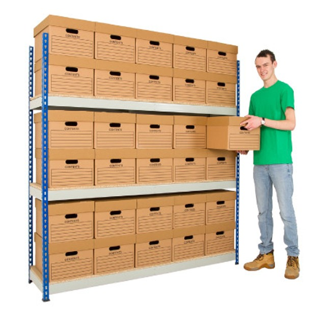 Rivet storeroom warehouse shelving racking