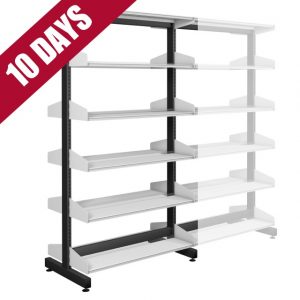 Probe Technic Library Office Shelving Double Sided Starter Bay