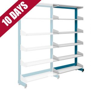 Probe Technic Library Office Shelving Single Sised Extension Bay