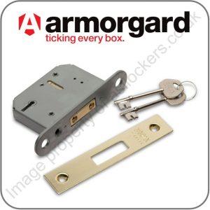 Armorgard 5 Lever Lock Single