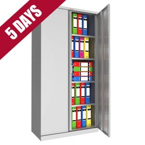 Phoenix Quick Delivery Tall Steel Office Storage Cupboard