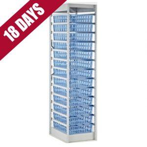 HTM71 13-Tray Storage Rack