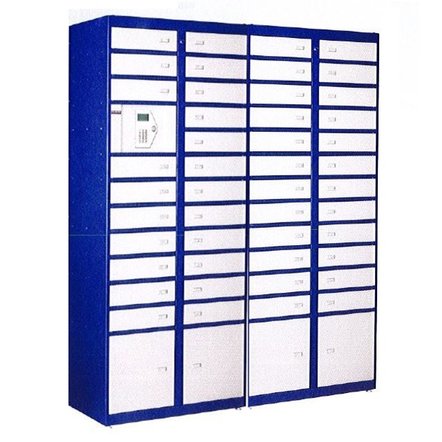 electronically controlled parcel lockers