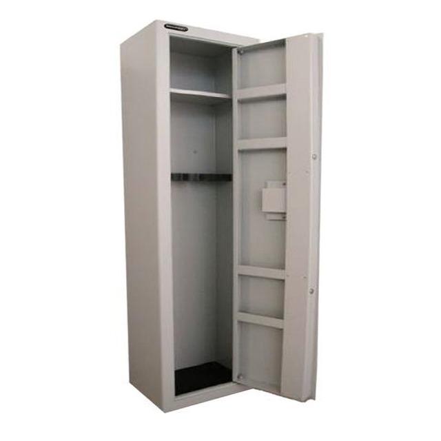 Gun cabinets safes