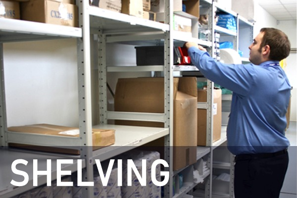 Shelving, racking and mobile storage systems