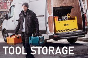 Van Tool Storgage, site tool stoarge, tool lockers, tool cupboards