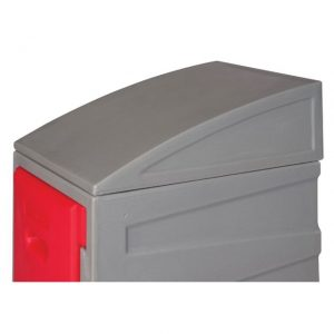 PLastic locker sloping top