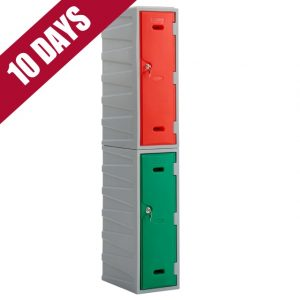 2 Tier Plastic locker