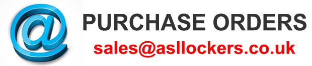 Send your purchase orders to sales@asllockers.co.uk