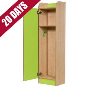 Rainbow wood low level primary school lockers