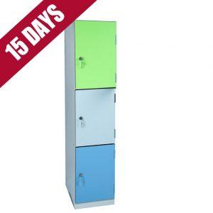 Vedette Key Stage 1 Locker Laminate 3 Door