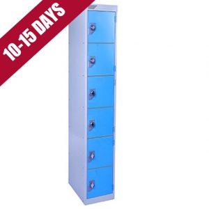 Vedette 6 Door Steel Locker