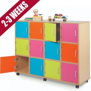 Bubblegum Storage Locker Unit