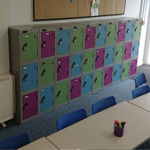Primary School Reduced Height Low Level Lockers