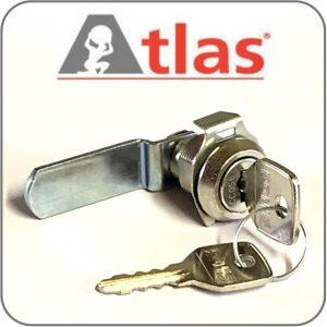 Atlas Lockers new key cam lock