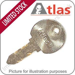 Atlas Locker Key Extreme Lock Key