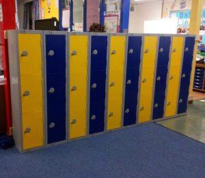 elite low primary school lockers