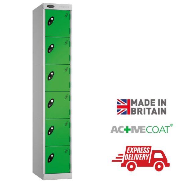 Probe Express Lockers - 6 Door