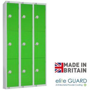 Elite 3 Door Lockers Nest3